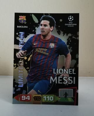 MESSI LIMITED EDITION CHAMPIONS LEAGUE 2011/12
