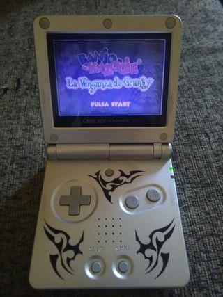 Gameboy Advance sp Edición Tribal.