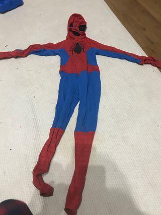 Disfraz de Spiderman niño. Talla de 3 a 6 años.