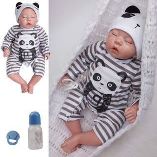 Muñecas Reborn Bebé Niño Vinilo Silicona Suave
