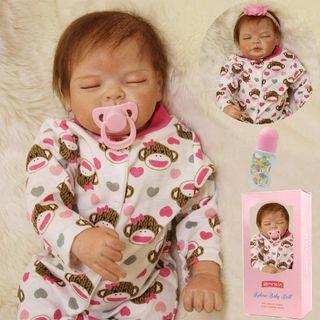 Muñeca Bebes Reborn Silicona Blanda