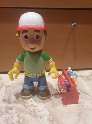 Figuras de juguete Manny Manitas