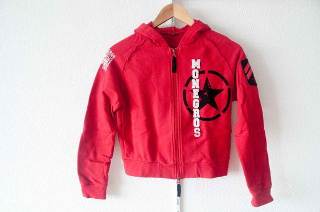 Chaqueta Cropped Monegros roja - talla M - NUEVO
