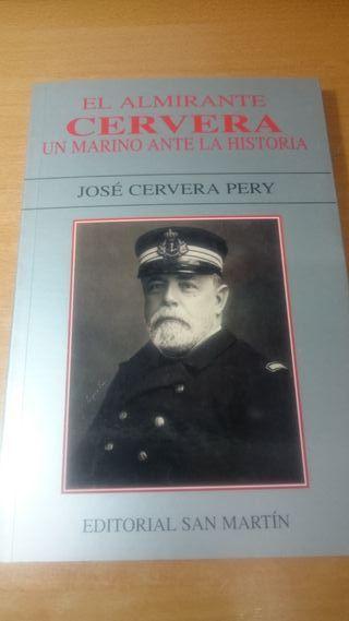 LIBRO GUERRA DE CUBA. ALMIRANTE CERVERA