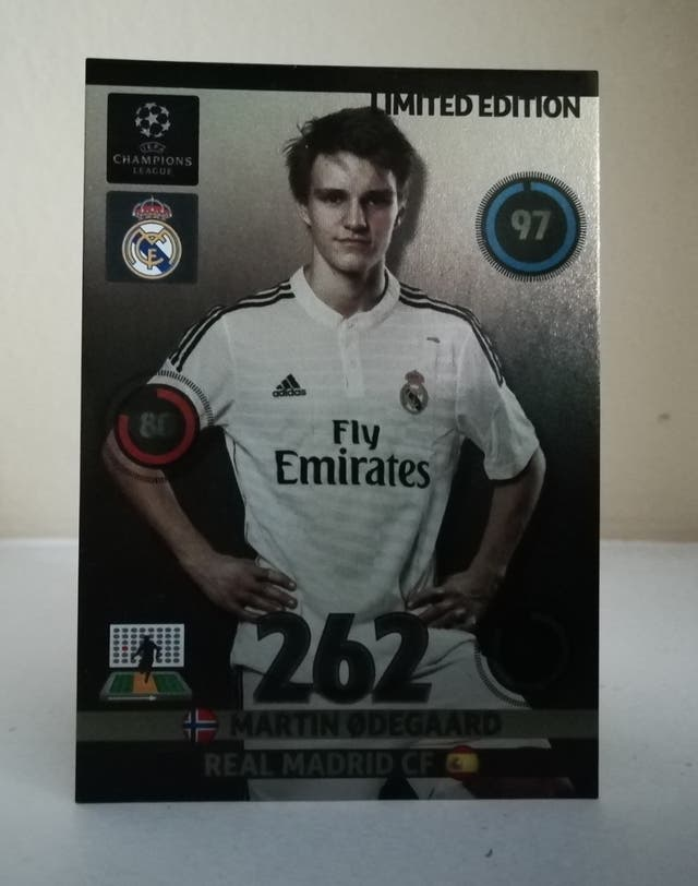ODEGAARD LIMITED EDITION ADRENALYN 2014/15
