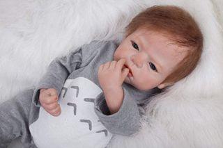 55 cm Muñeca Reborn Bebé Niño Pequeño