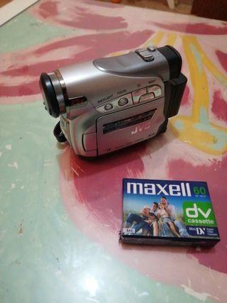 video camara jvc 25x