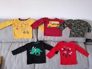 camisetas manga larga bebe 6-9 meses