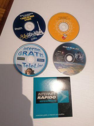 CDs navegación vintage