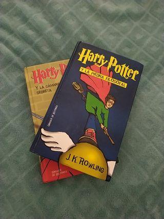Libros de Harry Potter.