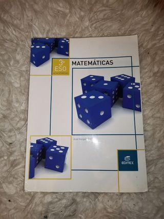 Libro matematicas academicas editex