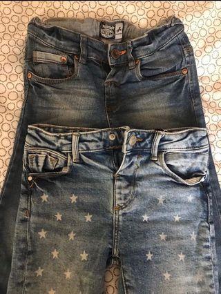 Lote 2 pantalones 4/5 años
