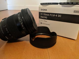 Sigma 17-70 mm 2.8-4 Macro para Nikon