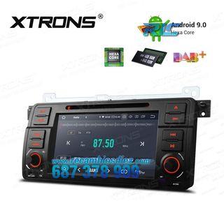"RADIO GPS 7"" ANDROID 9.0 HEXA-CORE DVD HDMI BMW, R"