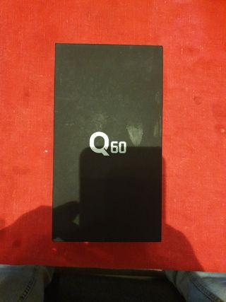 movil LG Q60 color azul 3 gb RAM 64 gb ROM