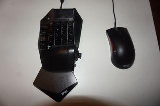 Hori tac pro teclado mecanico oficial ps4