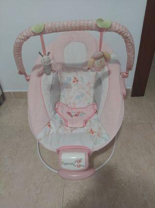 Hamaca rosa bebés