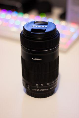 Objetivo Canon 55-250mm