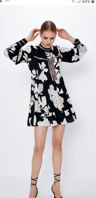 vestido estampado ZARA ED. LIMITADA