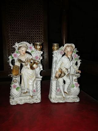figuras porcelana antiguas selladas