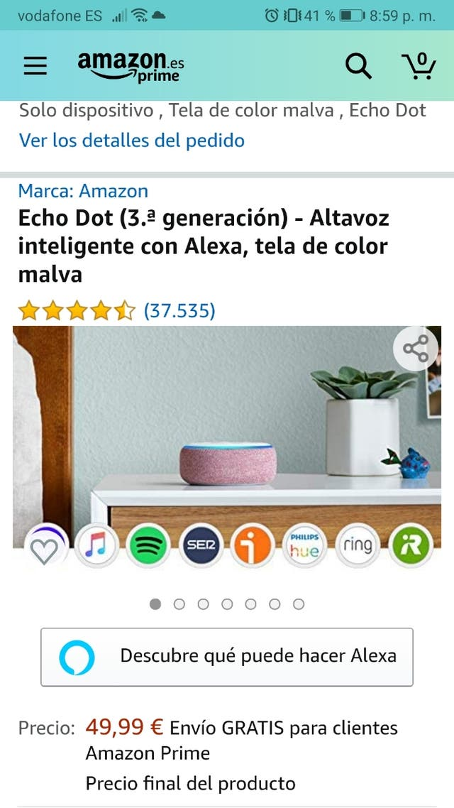 Amazon echo dot 3 alexa