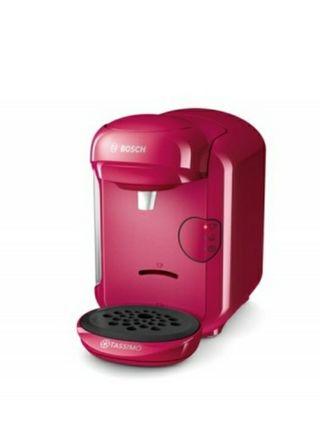 cafetera Bosch Tassimo rosa cereza