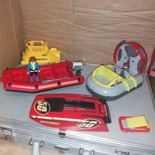 Playmobil lote embarcaciones