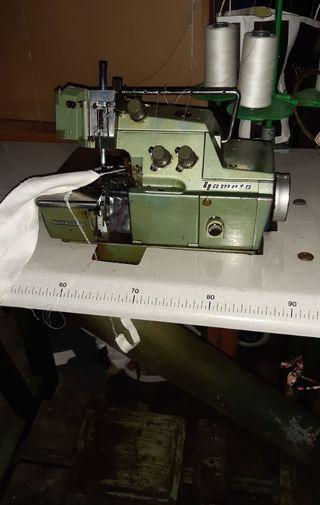 Máquina de coser industrial Overlock de 3 hilos