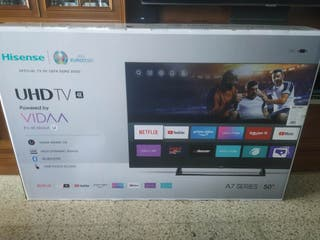 """Nueva smart TV Hisense 50"""""""