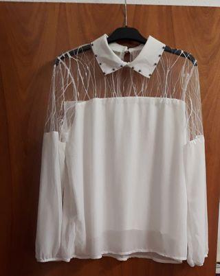 Blusa cachemir blonda mujer curvy Blusas, Camisas