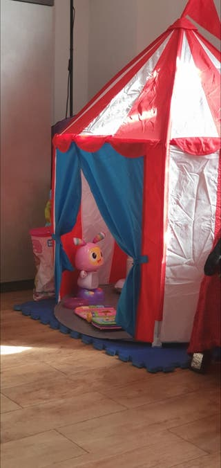 casa niños juguete / circo ikea