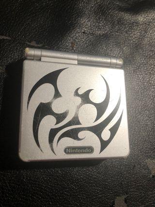 Game Boy Advance sp y Mario de luxe
