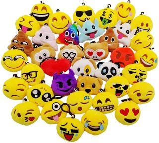 Mini Juguete de Peluche, Emoji Llavero