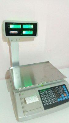 bascula peso balanza con impresora ticket nueva
