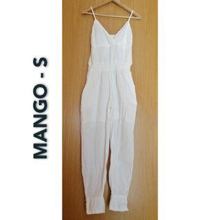Mono blanco (S) MANGO