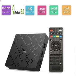Smart box Android 9 TV 4K 2/16gb