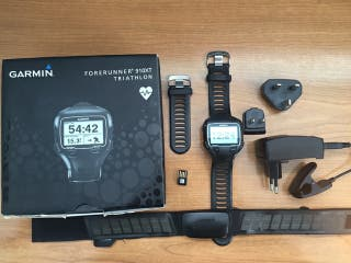 Pulsómetro GPS Garmin 910 XT