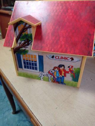 clínica veterinaria maletín de Playmobil