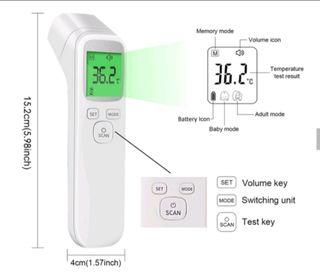 Termómetro infrarrojo sin contacto