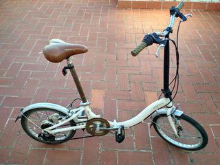 bicicleta Monty f17 plegable