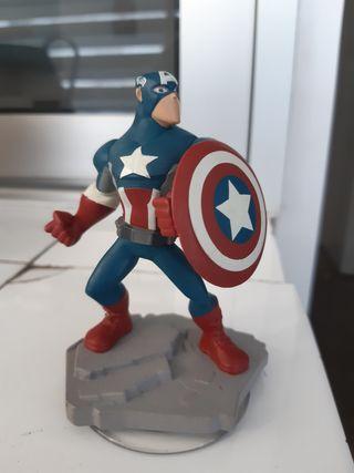 Figura Capitán América para Disney Infinity 2.0