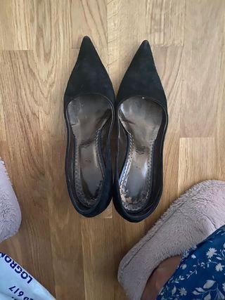 Zapato de piel comprado en Italia