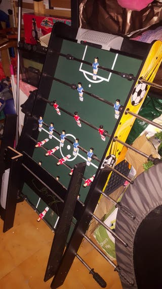 futbolín para niños