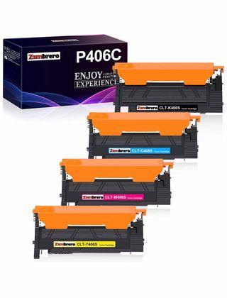 Pack 4 cartuchos toner compatibles