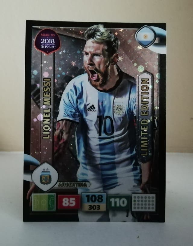 MESSI ADRENALYN LIMITED EDITION BRASIL 2018