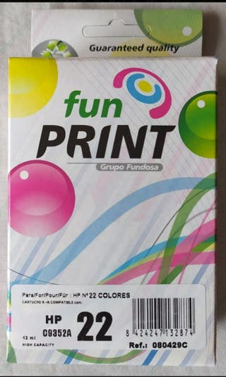 Cartucho de tinta HP22