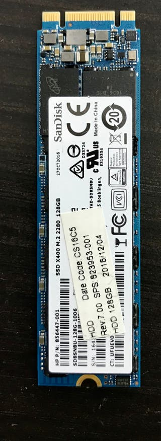 Disco SSD 128GB M2 2280