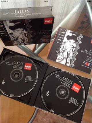 Doble CD María Callas - MADAMA BUTTERFLY