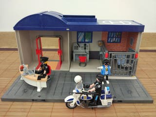 Maletín Playmobil policia