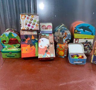 pack de juegos infantiles (media +3 años)